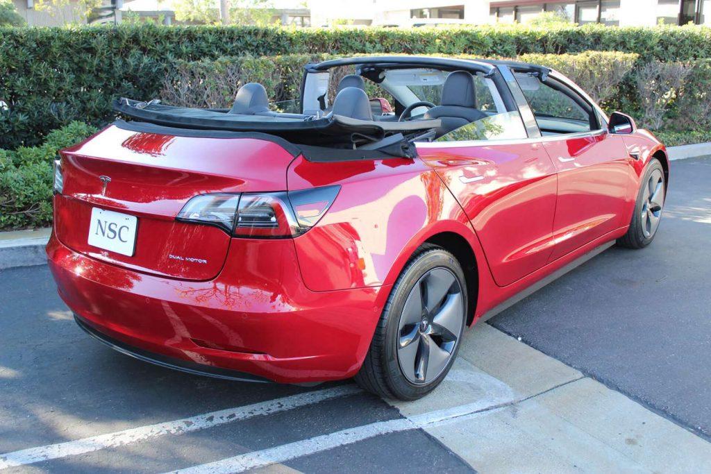 Tesla Model 3 cabriolet 5