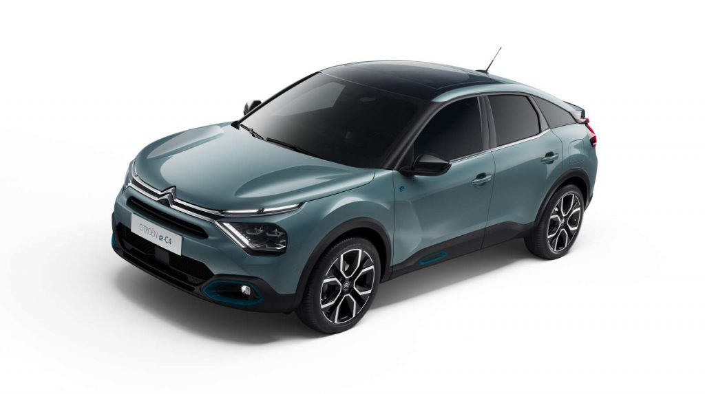 Citroën C4 2021 Citroën ë-C4
