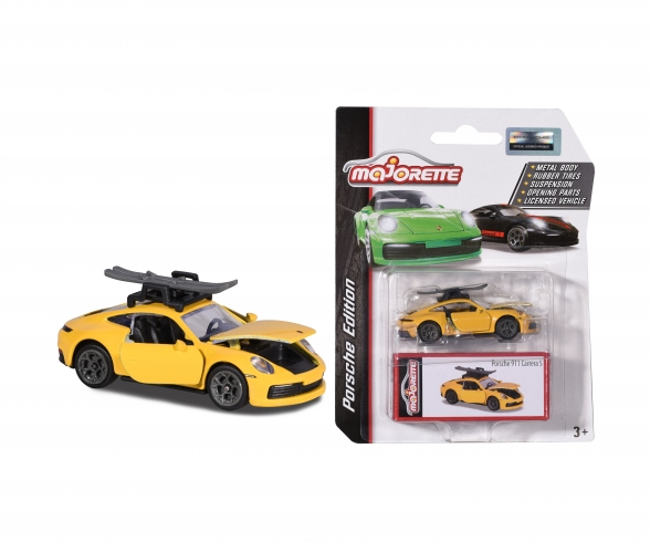 deluxe porsche 911 carrera yellow with ski 212053153Q03 fr 00