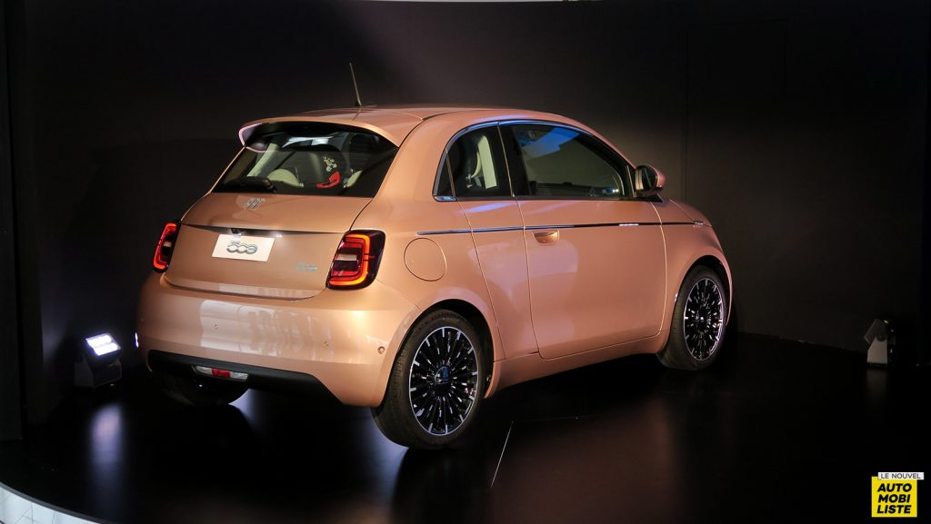 Fiat 500e 3+1 électrique 2020