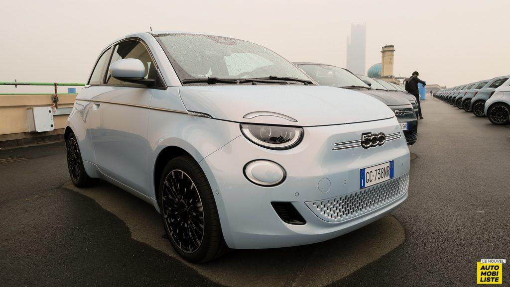 nouvelle Fiat 500e berline électrique 2020