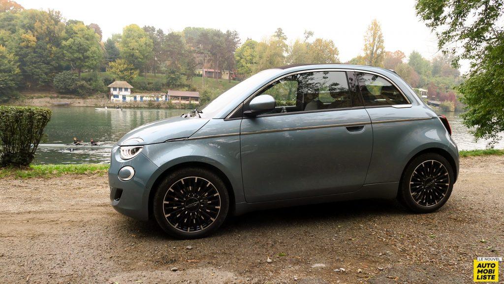 nouvelle Fiat 500e cabriolet électrique 2020