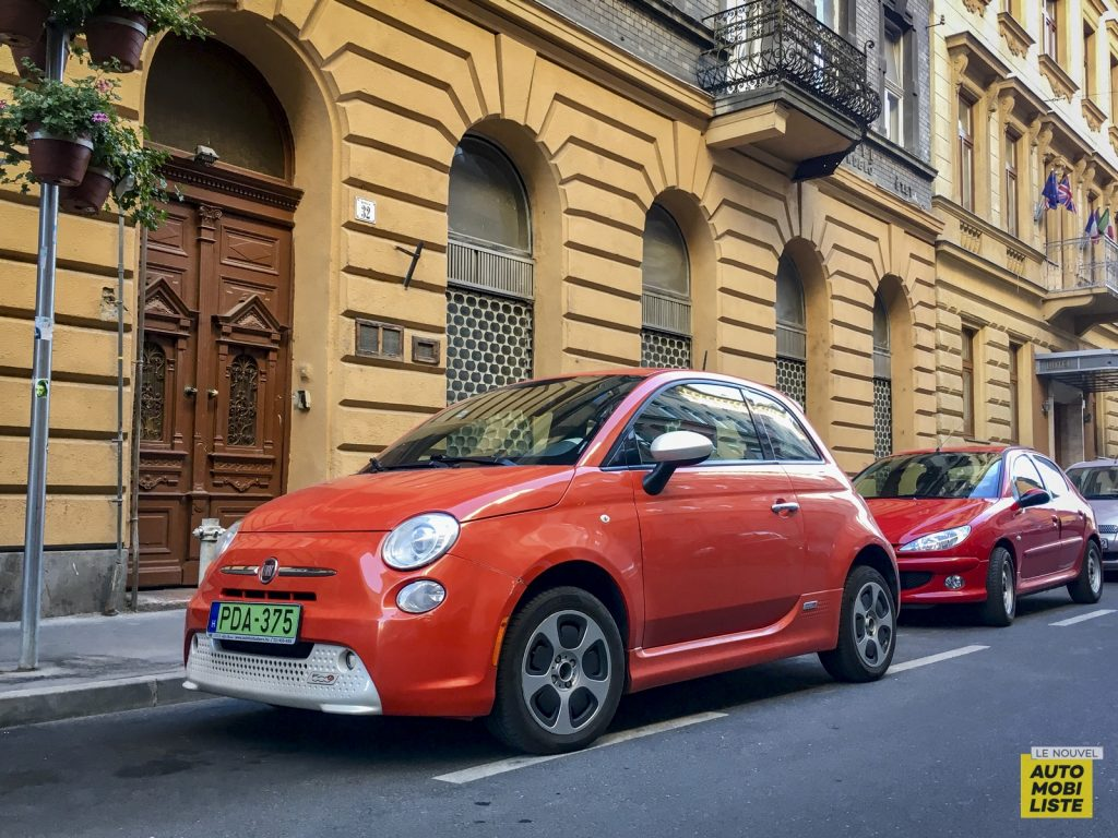 Budapest Fiat 500e USA