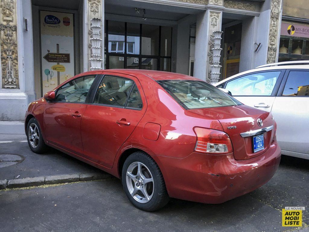 Budapest Toyota Yaris Sedan USA