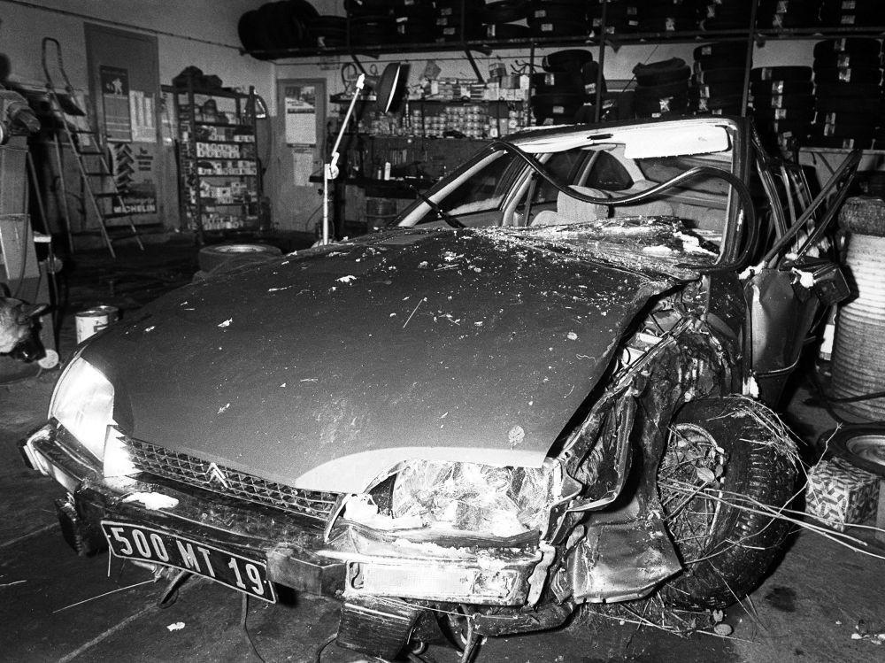 Chirac CX Accident