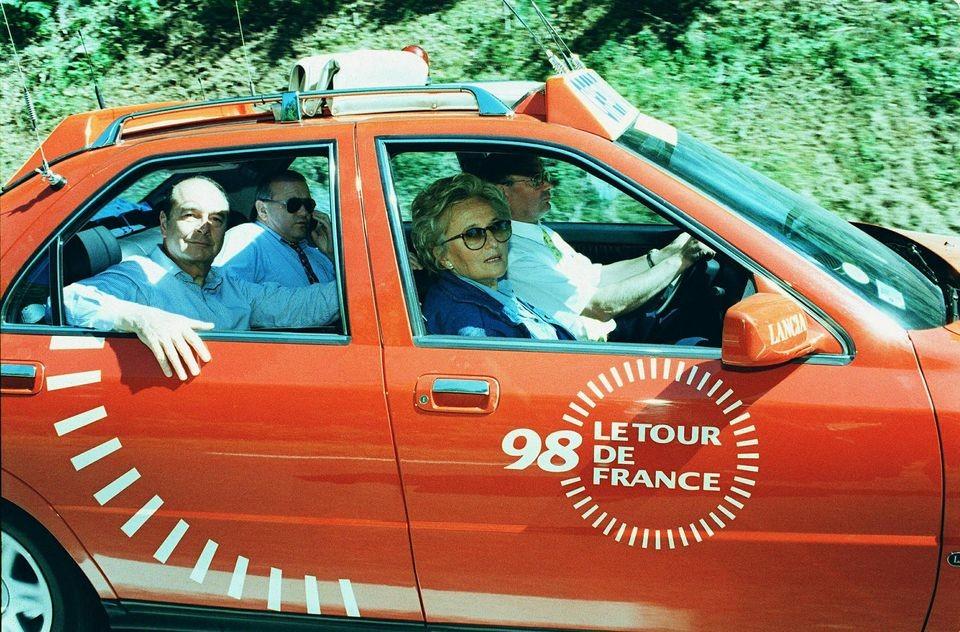 Chirac Tour de France Lancia Kappa