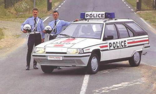 Citroen BX Police