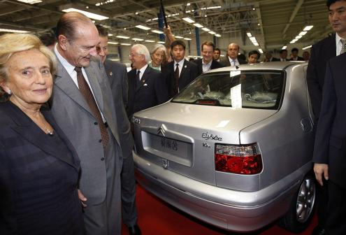 Citroen Elysee Chine Chirac Bernadette