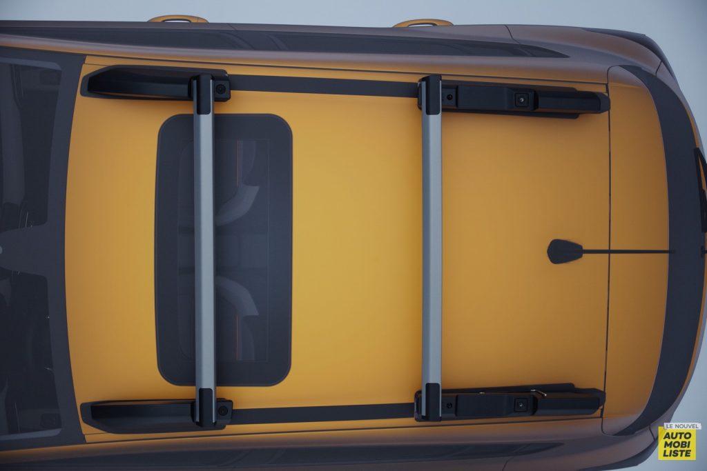 Dacia Sandero Stepway barres de toit 2020 LNA FM