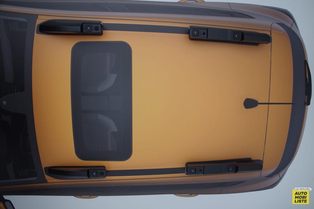 Dacia Sandero Stepway barres de toit 2020 LNA FM 4