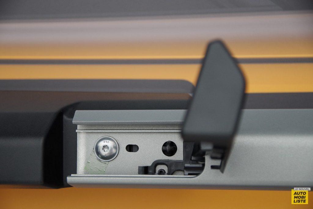 Dacia Sandero Stepway barres de toit 2020 LNA FM 7