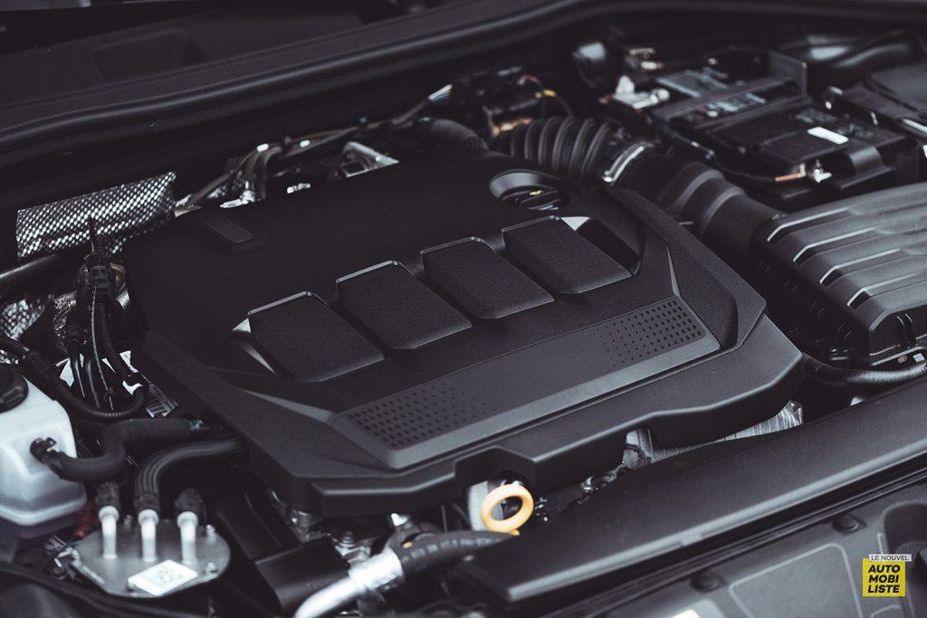 Essai Audi A3 2021 Sportback 35TDI Bloc moteur