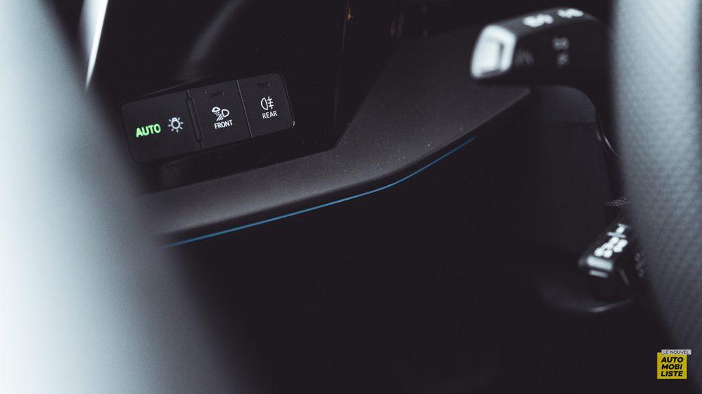 Essai Audi A3 2021 Sportback 35TDI Commodos