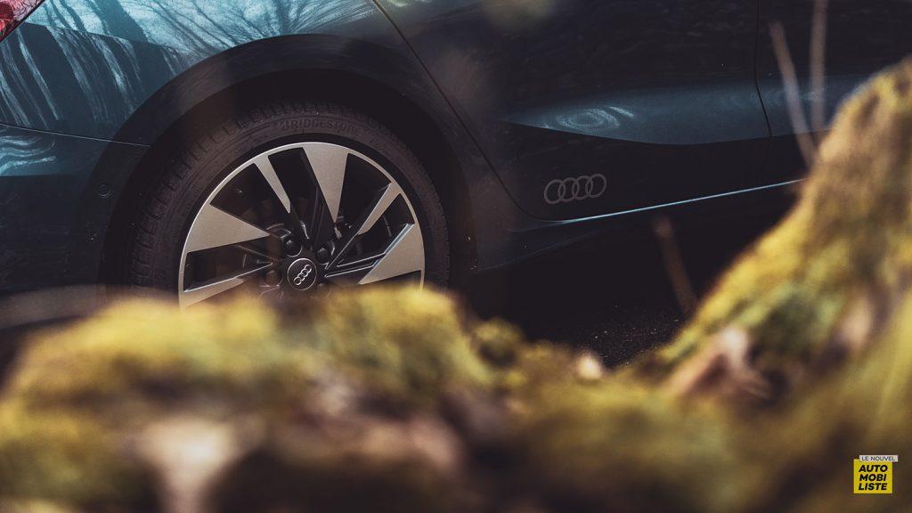 Essai Audi A3 2021 Sportback 35TDI Detail bas de caisse