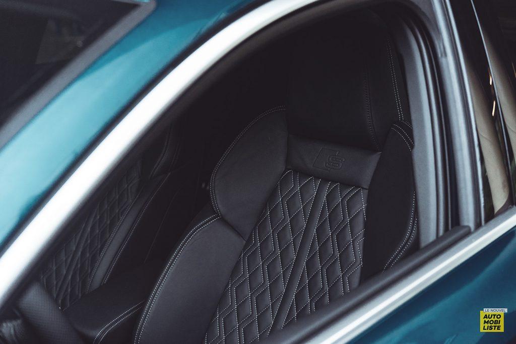 Essai Audi A3 2021 Sportback 35TDI Siege cuir sport