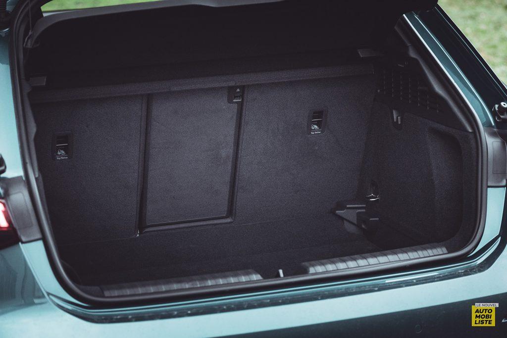 Essai Audi A3 2021 Sportback 35TDI Volume coffre