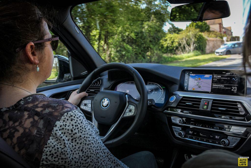 Essai BMW iX3 35