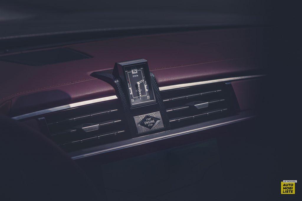 Essai DS9 E Tense THP 225 Hybride Crytal Pearl Finition Rivoli Opera Detail montre BRM