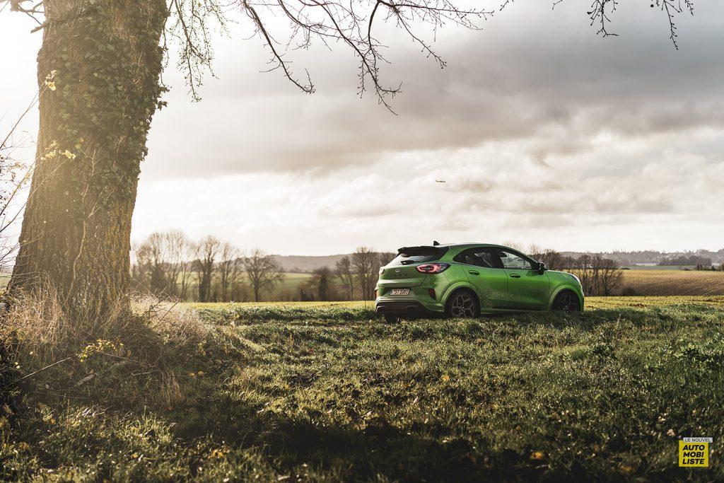 Essai Ford Pumat ST 200ch BV6 Green Mean Profil