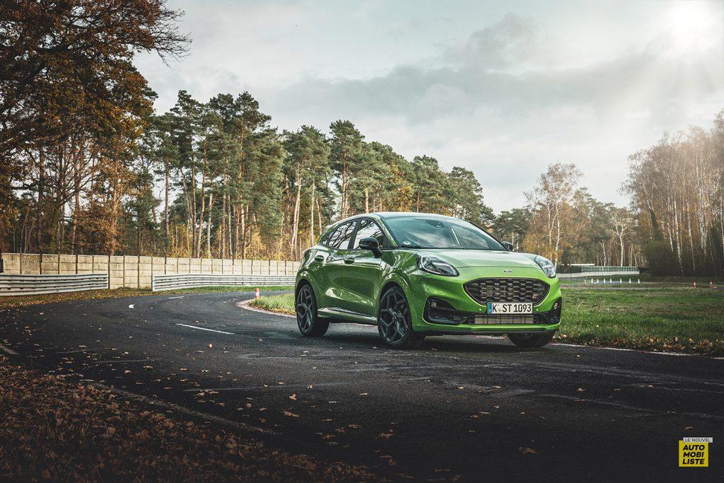 Essai Ford Pumat ST 200ch BV6 Green Mean Sur circuit 3