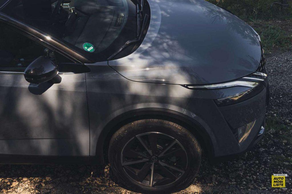 Essai Nissan Qashqai 140 Mildhybrid TeknaGris Argile Roues 19 pouces