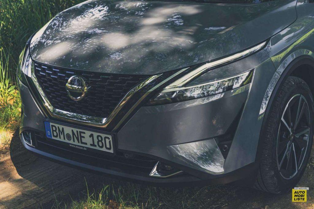 Essai Nissan Qashqai 140 Mildhybrid TeknaGris Argile Signature lumineuse