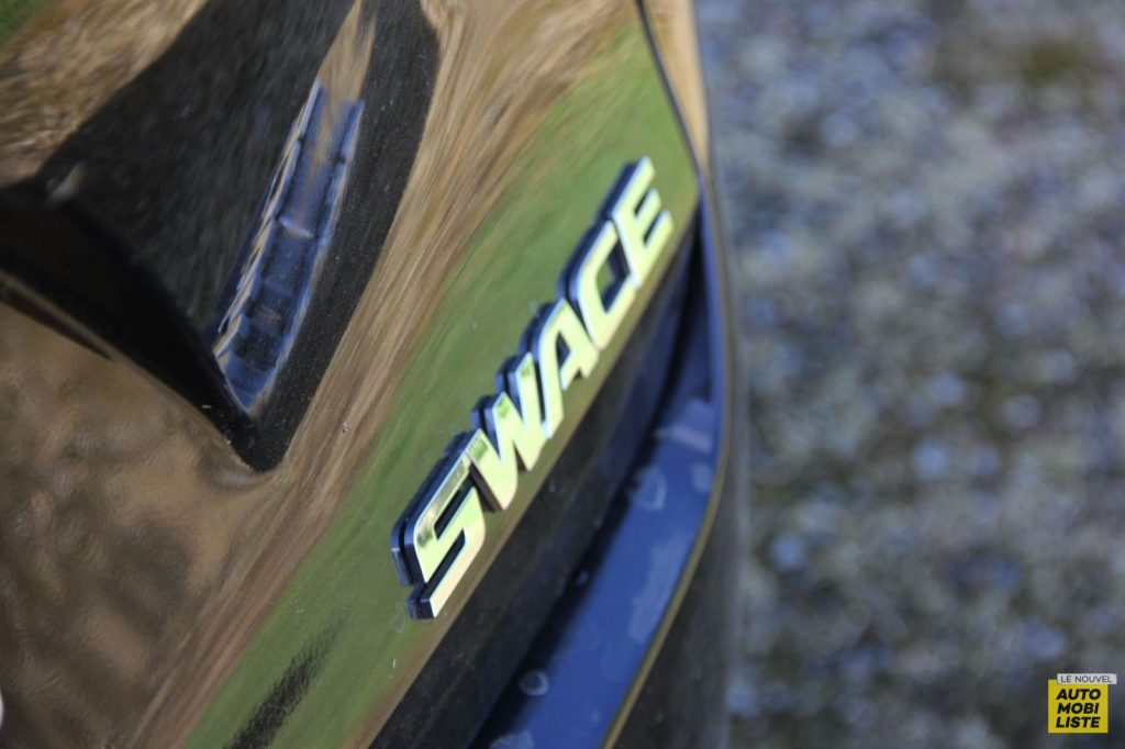 Essai Suzuki Swace 18
