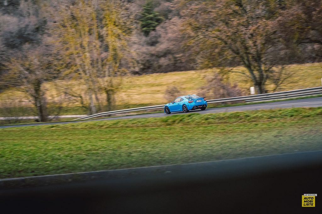 Essai Toyota GT86 D 4S Racing Blue Edition Dynamique