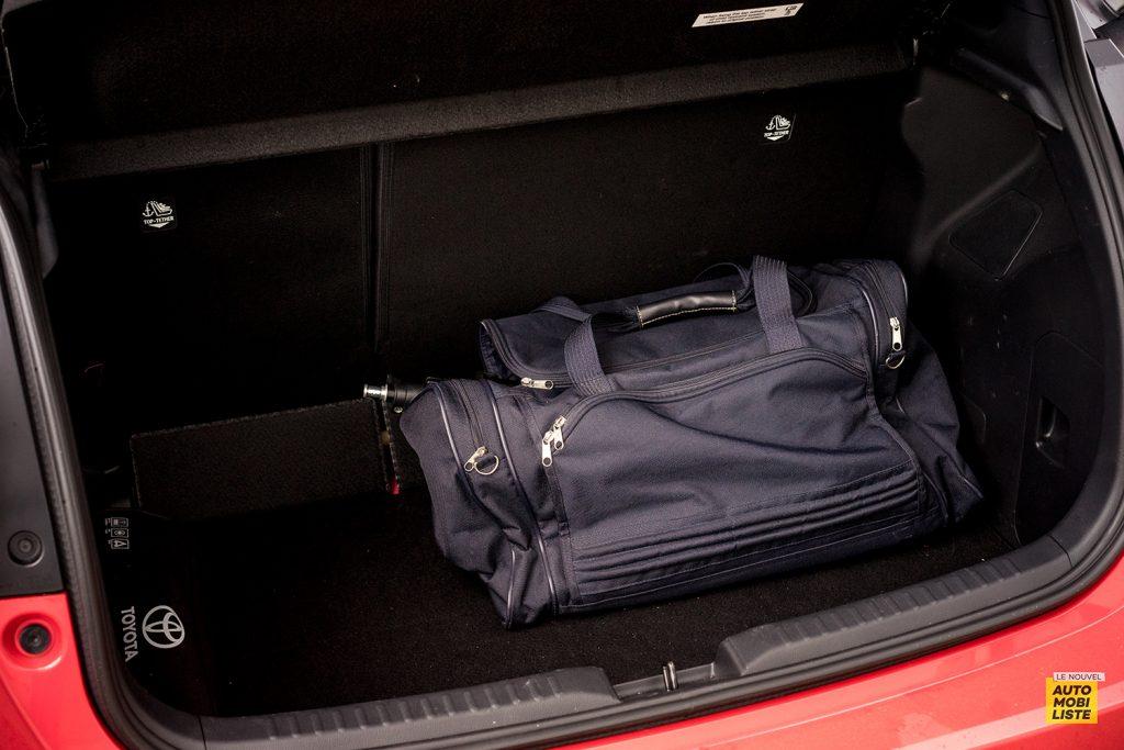 Essai Toyota Yaris La Premiere Edition Hybride Coffre