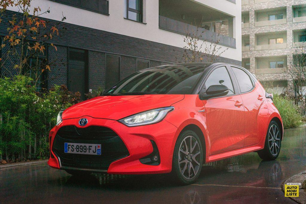 Essai Toyota Yaris La Premiere Edition Hybride Face avant 3