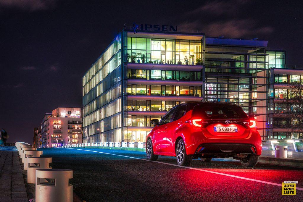 Essai Toyota Yaris La Premiere Edition Hybride Signature lumineuse 3