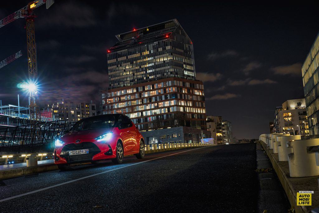 Essai Toyota Yaris La Premiere Edition Hybride Signature lumineuse 4