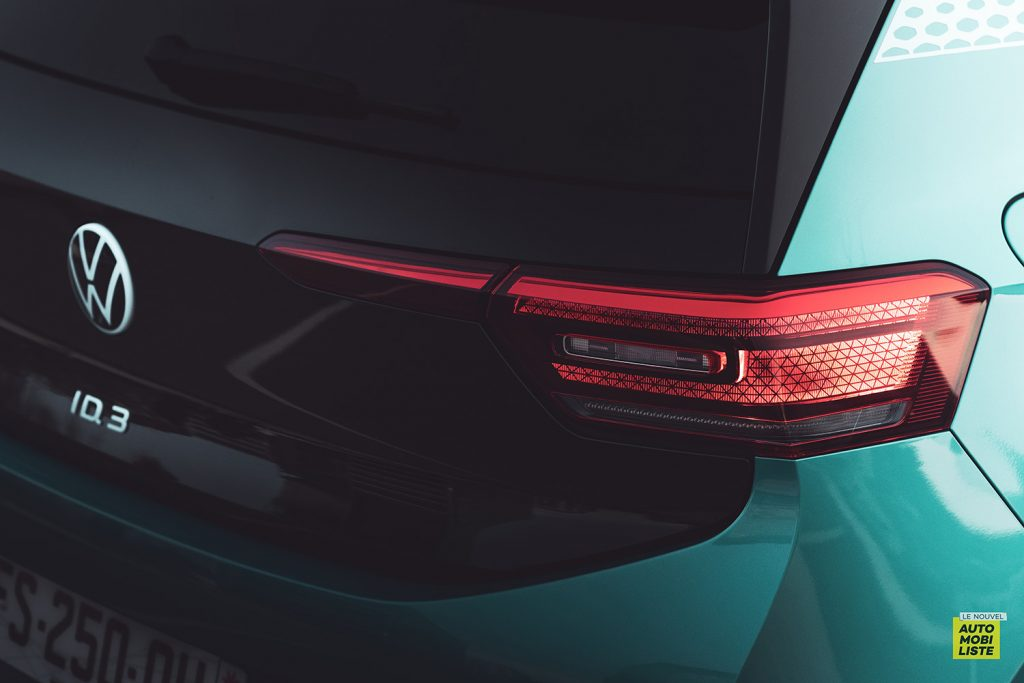 Essai VW ID.3 1st Max 58kWh 204ch feu arriere
