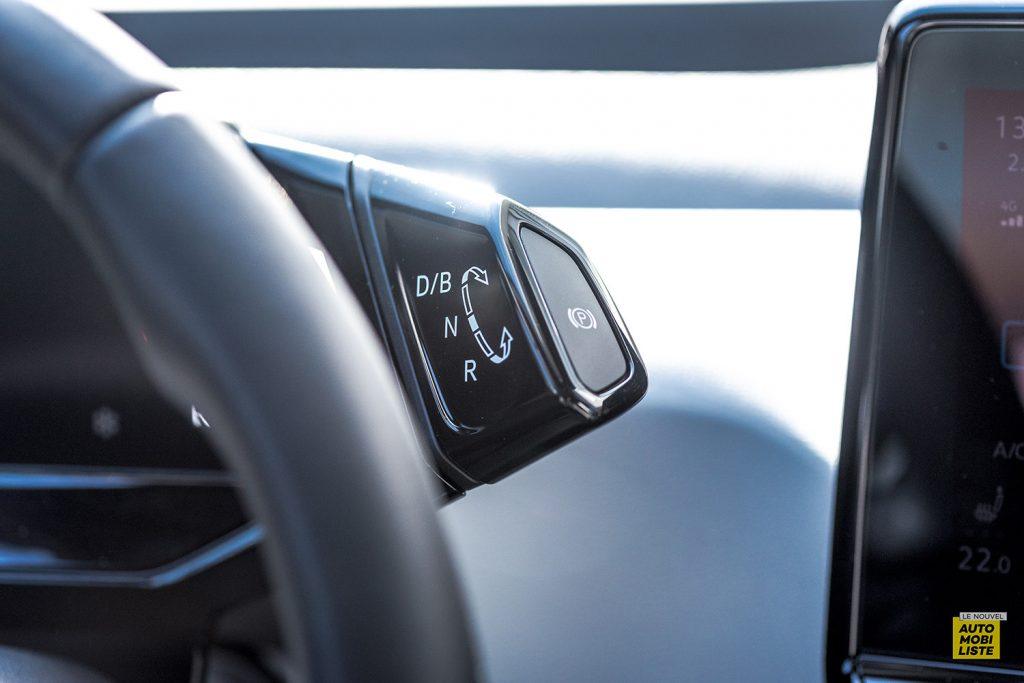 Essai VW ID.3 1st Max 58kWh 204ch levier vitesses