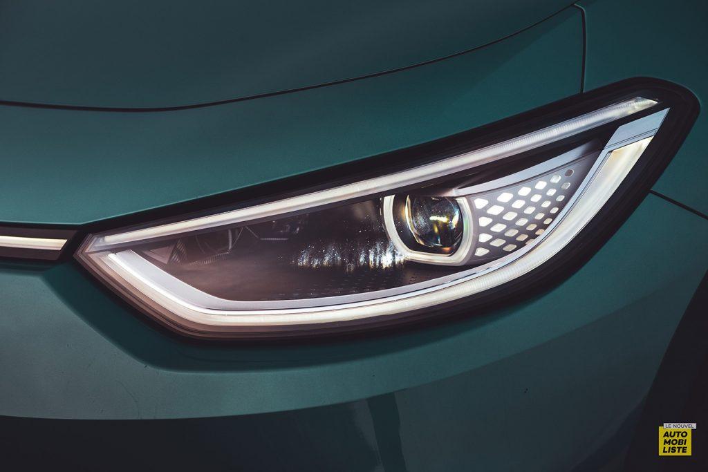 Essai VW ID.3 1st Max 58kWh 204ch phare LED 2