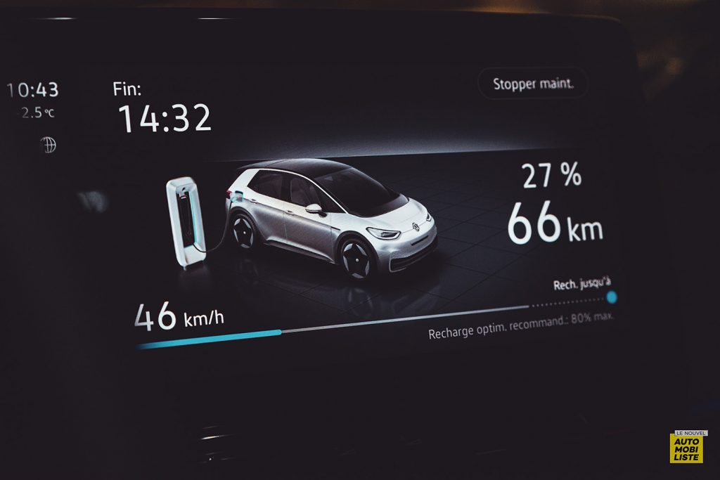 Essai VW ID.3 1st Max 58kWh 204ch recharge