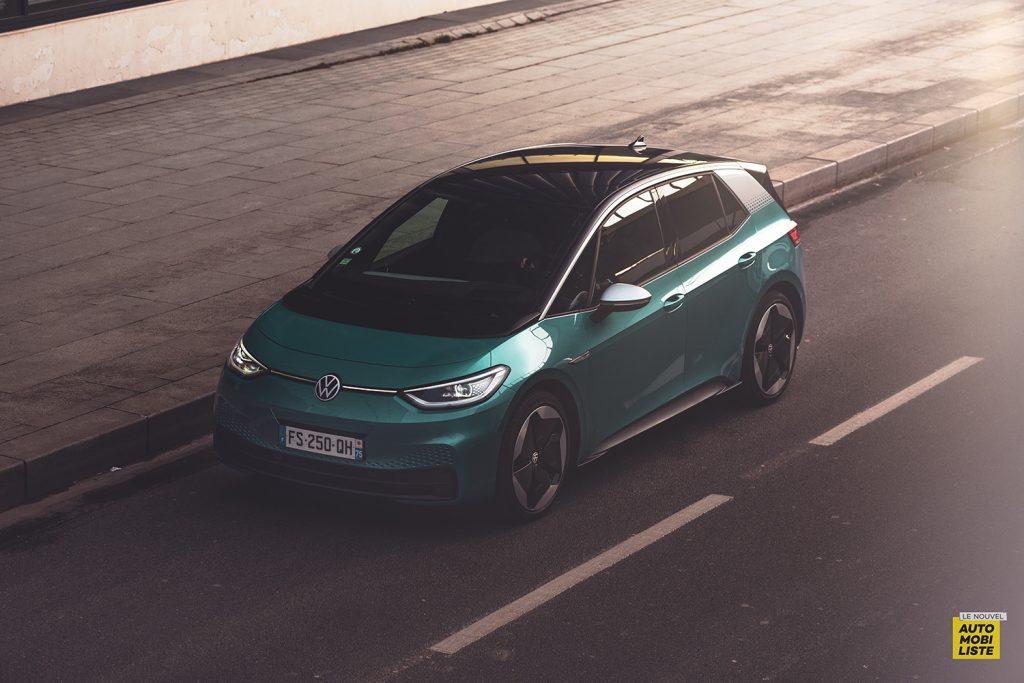 Essai VW ID.3 1st Max 58kWh 204ch vue avant