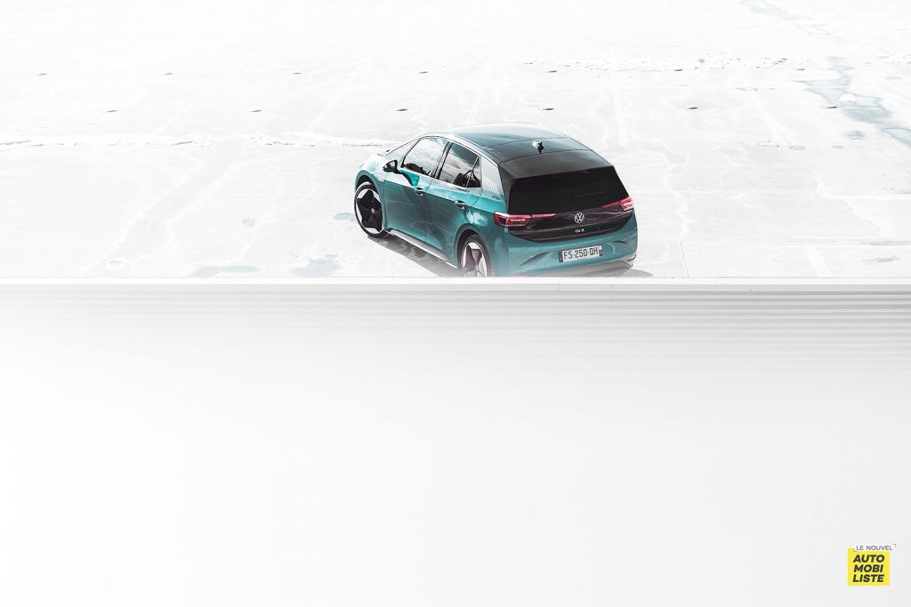 Essai VW ID.3 1st Max 58kWh 204ch vue gnerale arriere