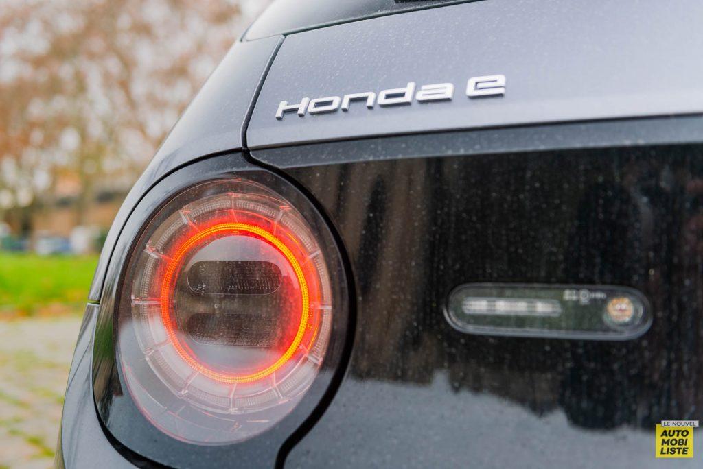 Essai Honda e acier moderne metallise 2020 22