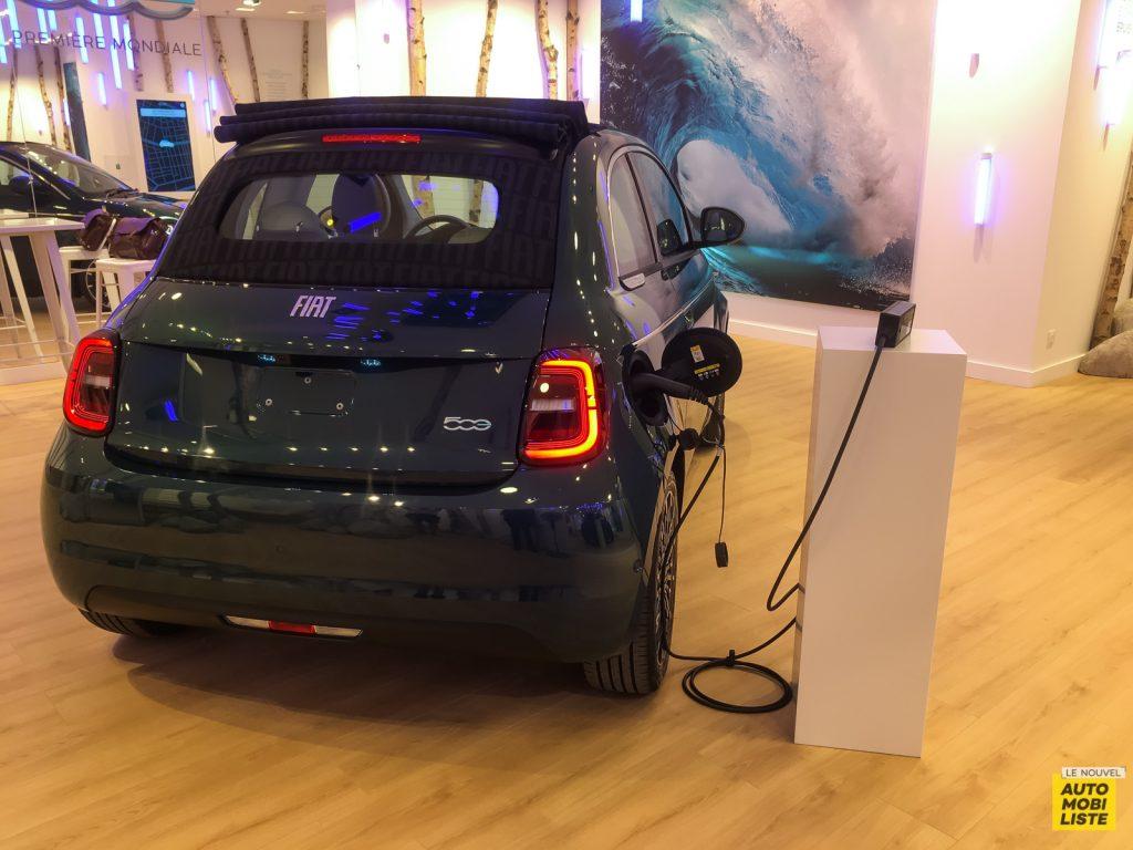 Nouvelle Fiat 500e 2020 électrique