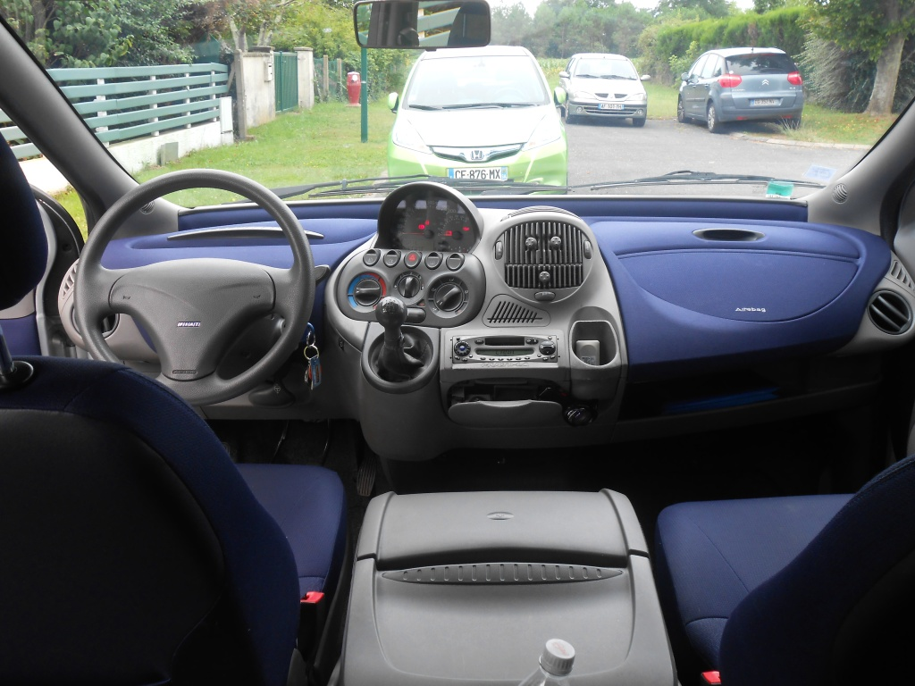 Fiat Multipla Interior