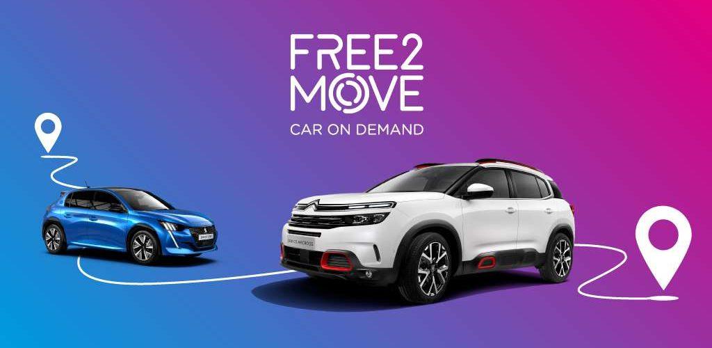Free2move Car On Demand