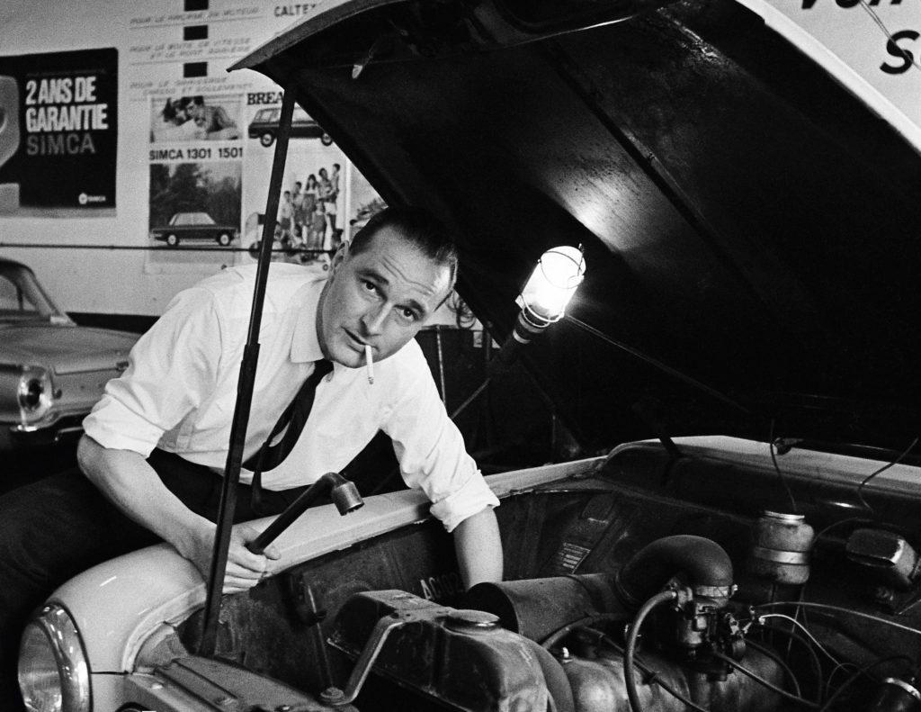 Jacques Chirac Peugeot 403 01