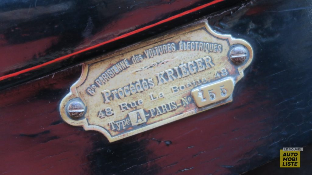 Krieger electrique 1908 Retromobile 2020 LNA FM 12