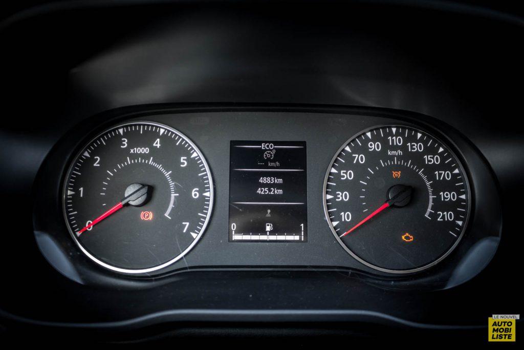 LNA 2007 Essai Dacia Duster Eco G Compteur RB