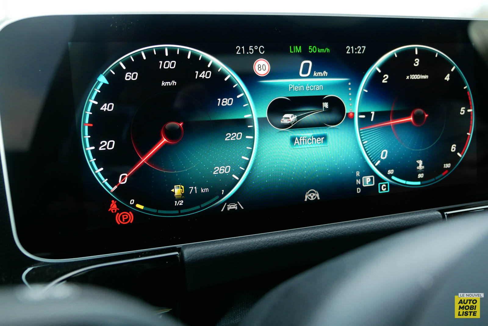 LNA 2007 Mercedes GLA Compteur 009