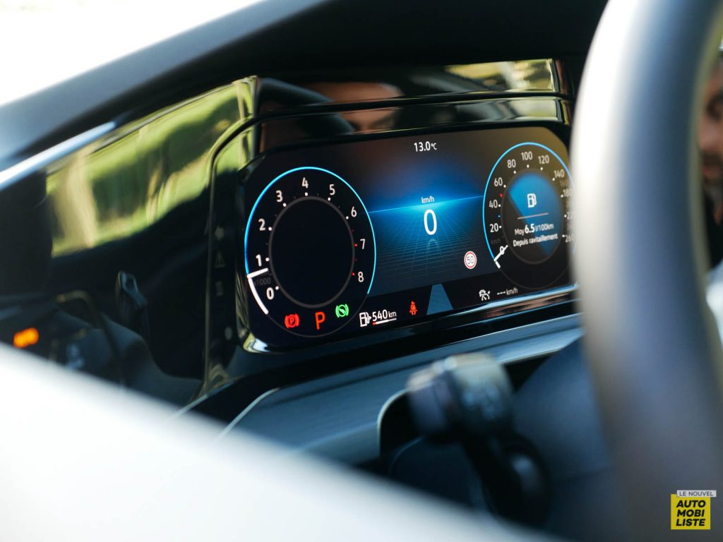 LNA ESSAI 2012 VW Golf eTSI Compteur 001