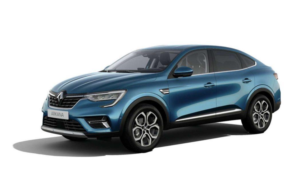 LNA Essai 2102 Renault ARKANA Couleur Intens Bleu Zanzibar