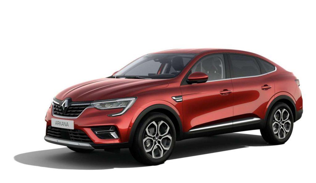 LNA Essai 2102 Renault ARKANA Couleur Intens Rouge Flamme