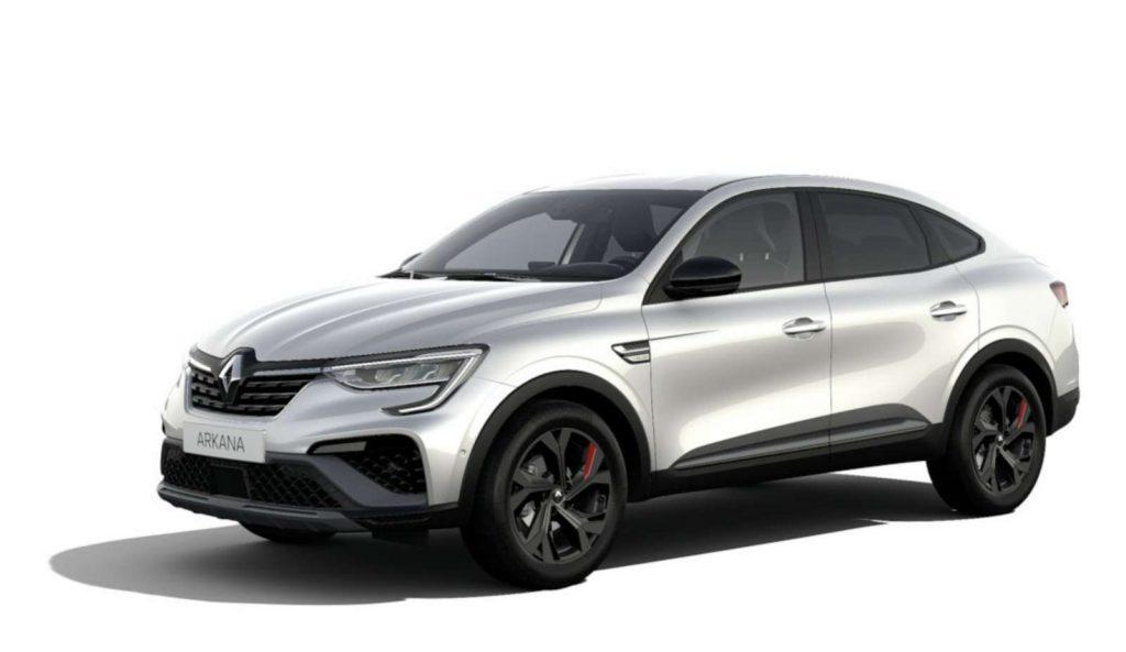 LNA Essai 2102 Renault ARKANA Couleur RS Blanc Perle